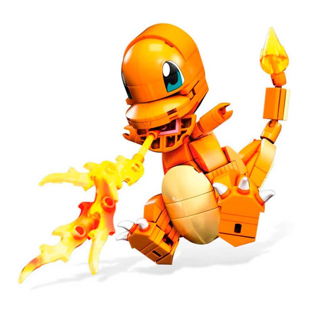 Blocos de Montar Mega Construx Pokémon - Charmander   Mattel