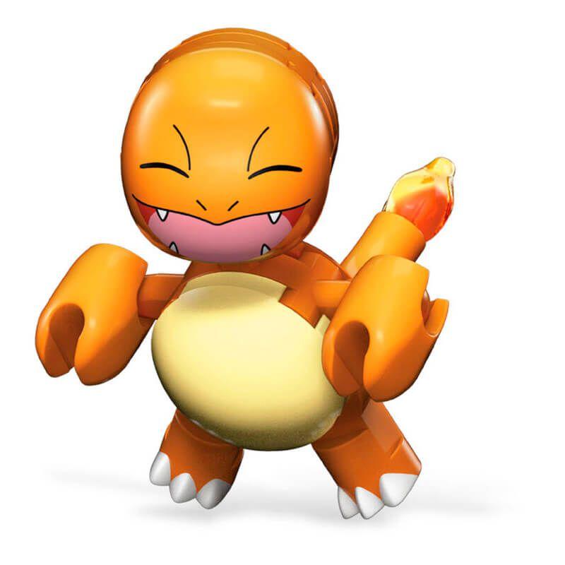 Blocos de Montar Mega Construx Pokémon - Charmander + Poké Bola | Mattel