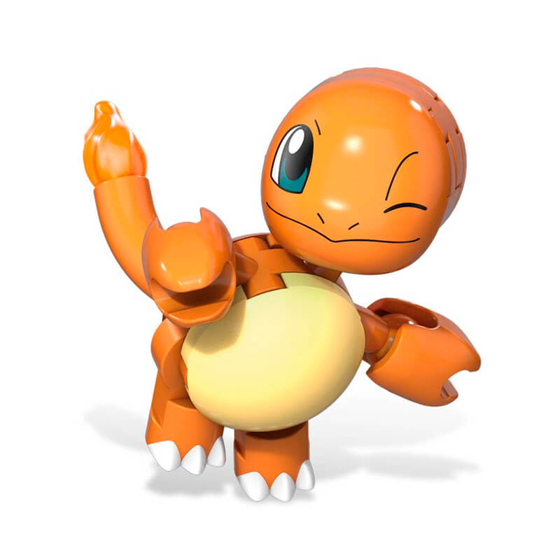 Blocos de Montar Mega Construx Pokémon - Charmander + Poké Bola   Mattel
