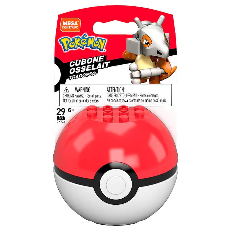 Blocos de Montar Mega Construx Pokémon - Cubone + Poké Bola | Mattel