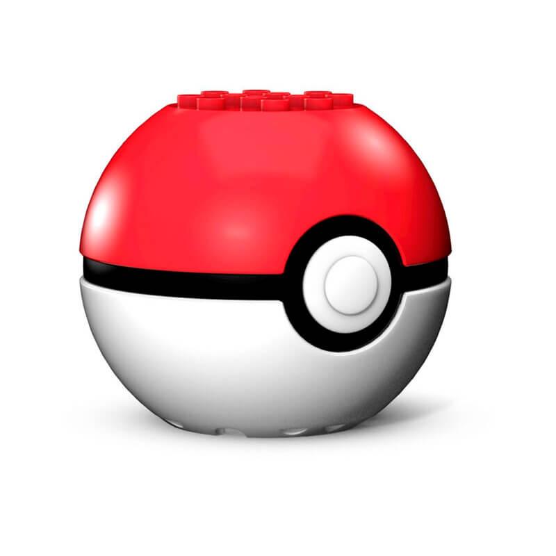 Blocos de Montar Mega Construx Pokémon - Eevee + Poké Bola   Mattel