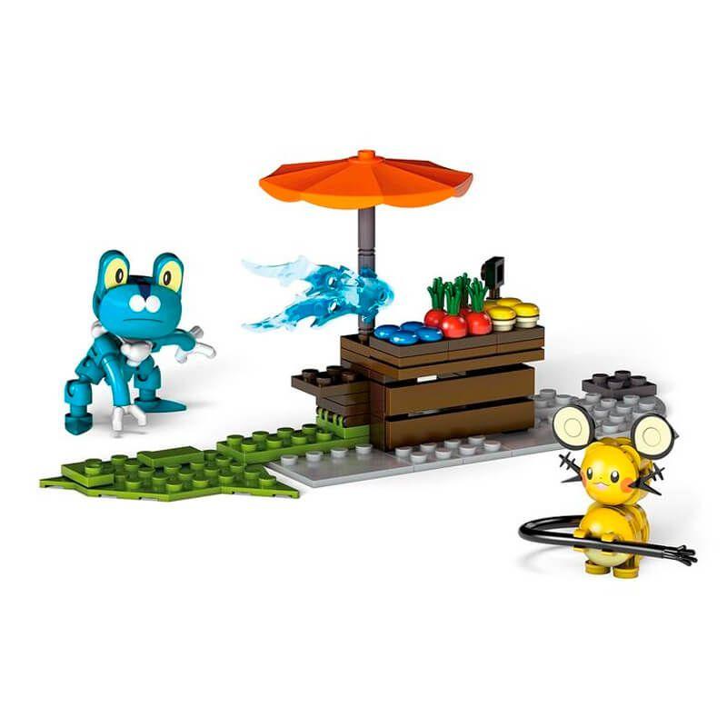 Blocos de Montar Mega Construx Pokémon - Froakie VS. Dedenne | Mattel