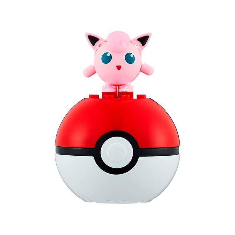 Blocos de Montar Mega Construx Pokémon - Jigglypuff + Poké Bola | Mattel