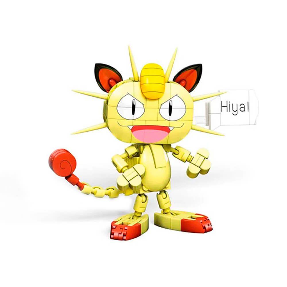 Blocos de Montar Mega Construx Pokémon - Meowth | Mattel