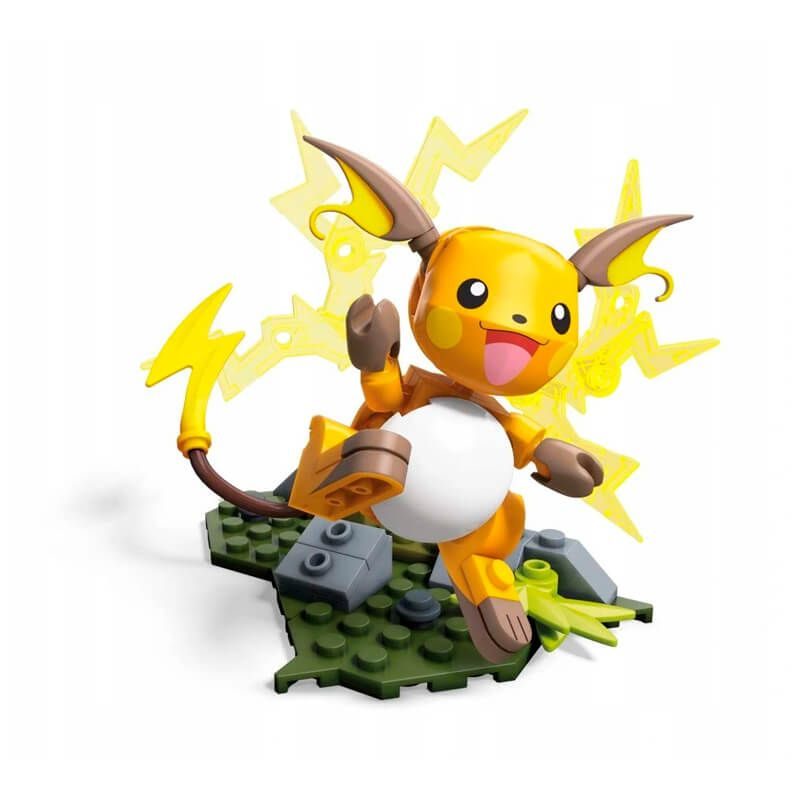 Blocos de Montar Mega Construx Pokémon - Raichu | Mattel