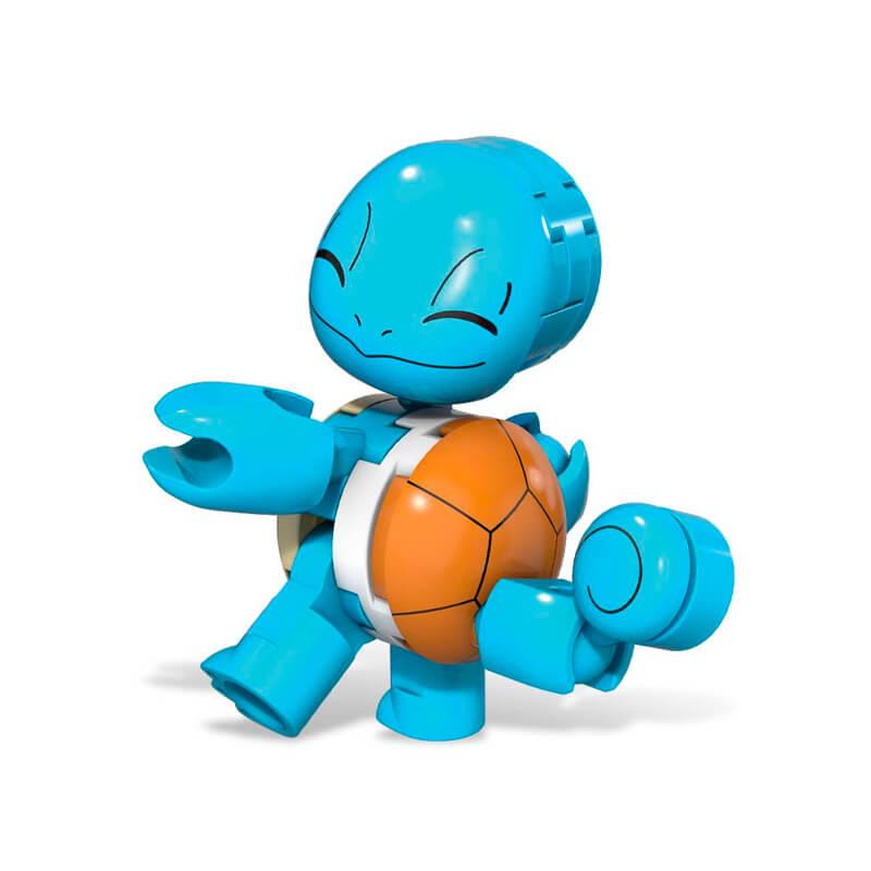Blocos de Montar Mega Construx Pokémon - Squirtle + Poké Bola | Mattel