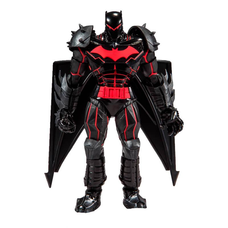 Figura de Ação DC Multiverse: Batman - Hellbat Suit Articulado   McFarlane