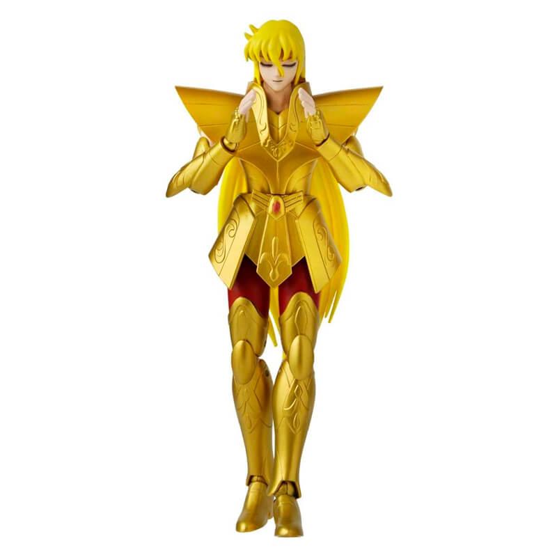 Boneco Articulado Virgo Shaka - Anime Heroes | Bandai/Saint Seiya