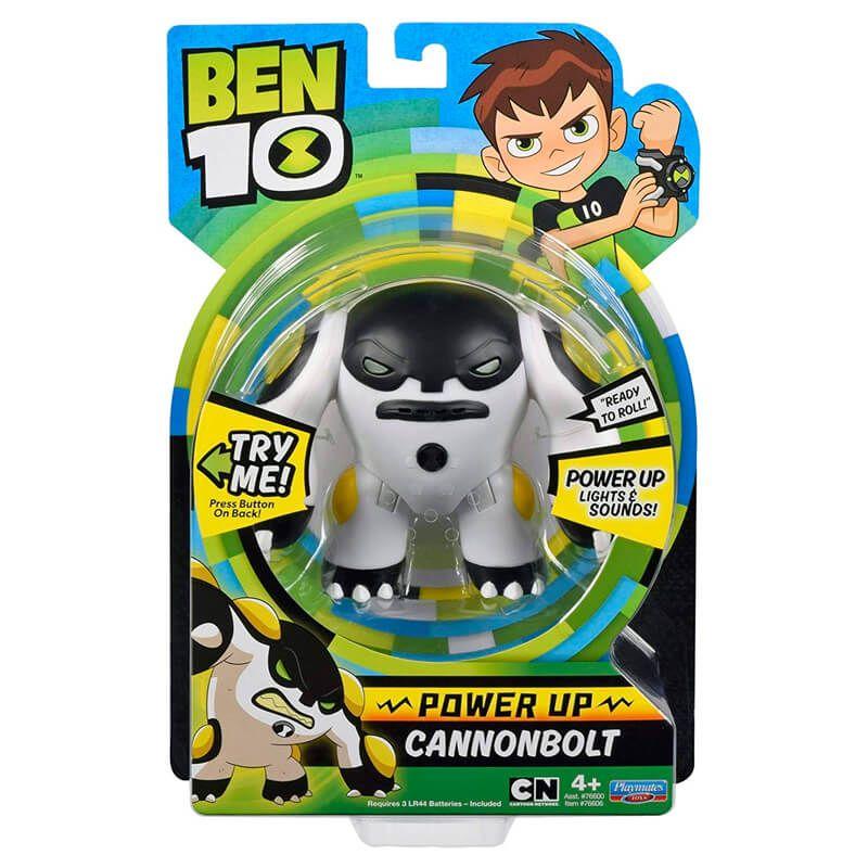 Boneco Ben 10 Deluxe Aliens - Bala de Canhão | Playmates/Sunny