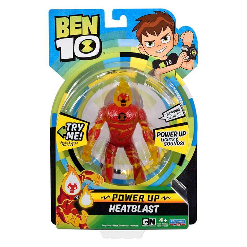 Boneco Ben 10 Deluxe Aliens - Chama   Playmates/Sunny