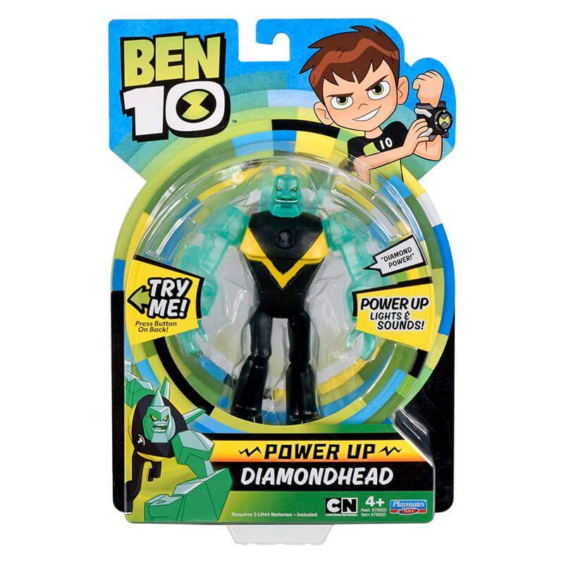 Boneco Ben 10 Deluxe Aliens - Diamante | Playmates/Sunny