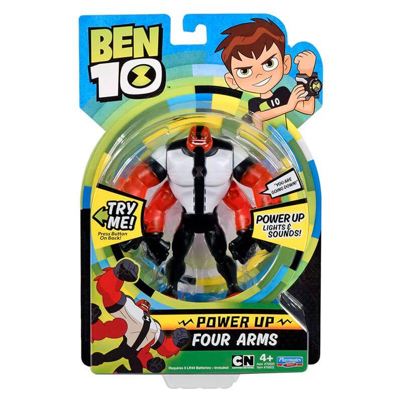 Boneco Ben 10 Deluxe Aliens - Quatro-Braços | Playmates/Sunny