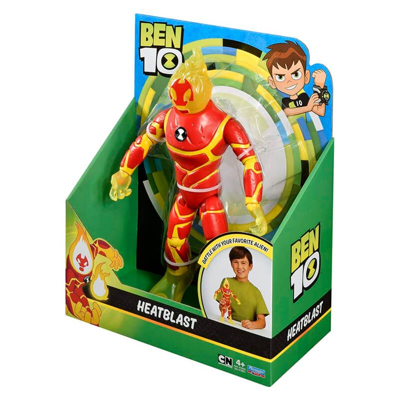 "Boneco Ben 10 Figuras Articuladas 10"" - Chama | Playmates/Sunny"