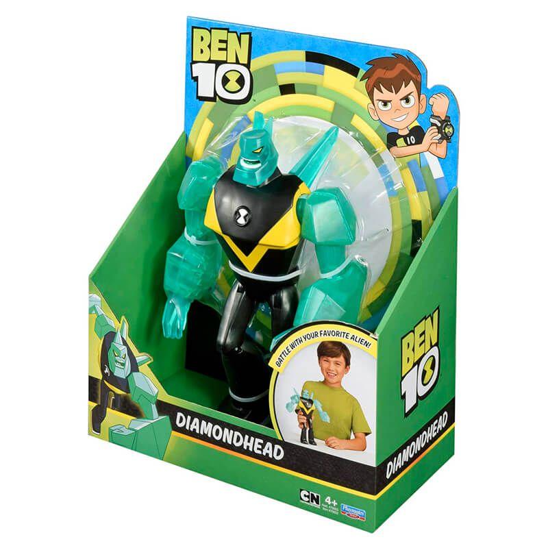 "Boneco Ben 10 Figuras Articuladas 10"" - Diamante | Playmates/Sunny"