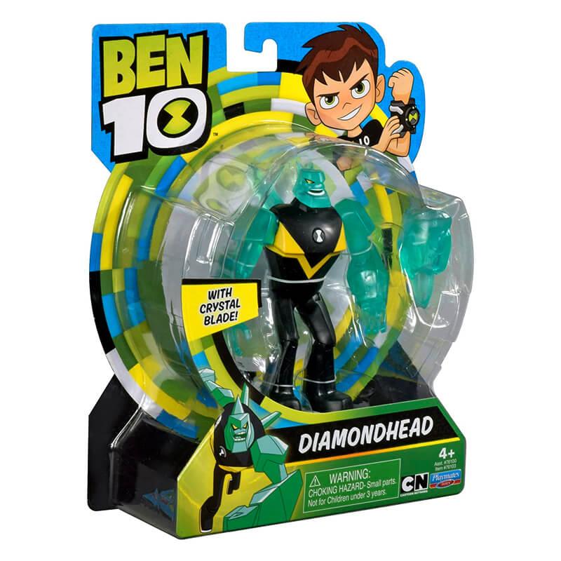 Boneco Ben 10 Figuras de Ação - Diamante   Playmates/Sunny