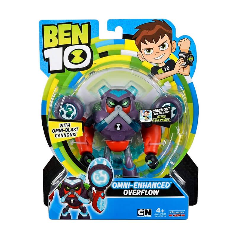 Boneco Ben 10 Figuras de Ação - Enxurrada Omnitunado | Playmates/Sunny