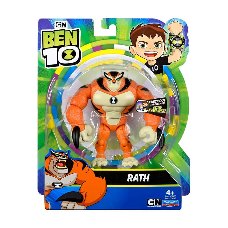 Boneco Ben 10 Figuras de Ação - Rath   Playmates/Sunny