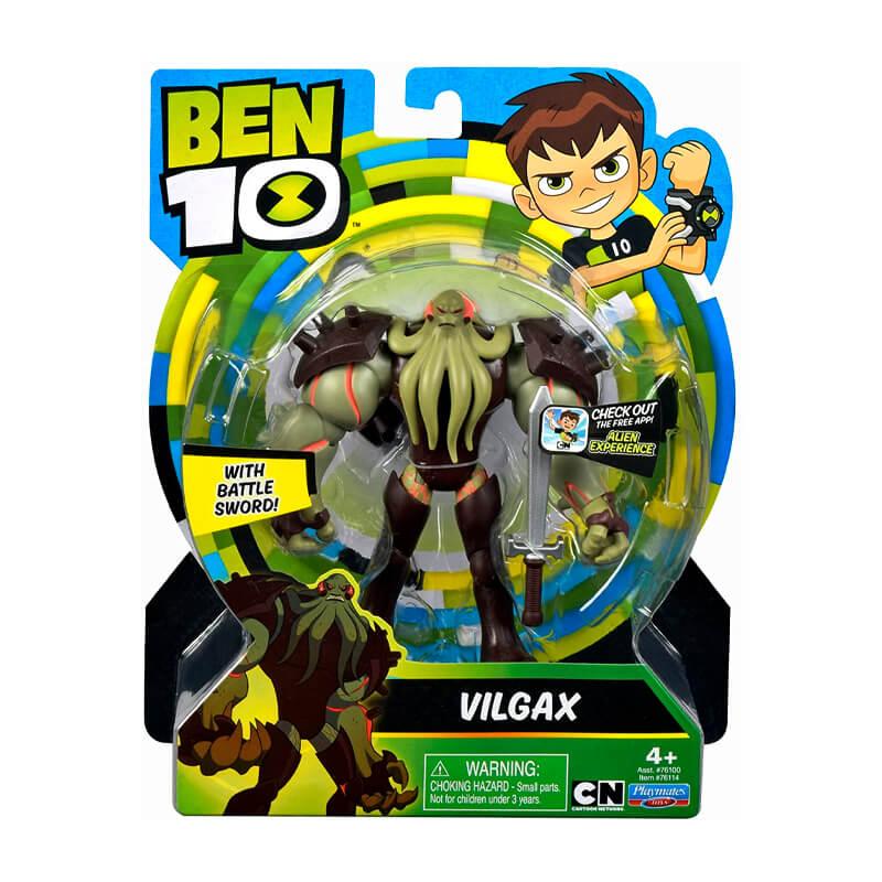 Boneco Ben 10 Figuras de Ação - Vilgax | Playmates/Sunny