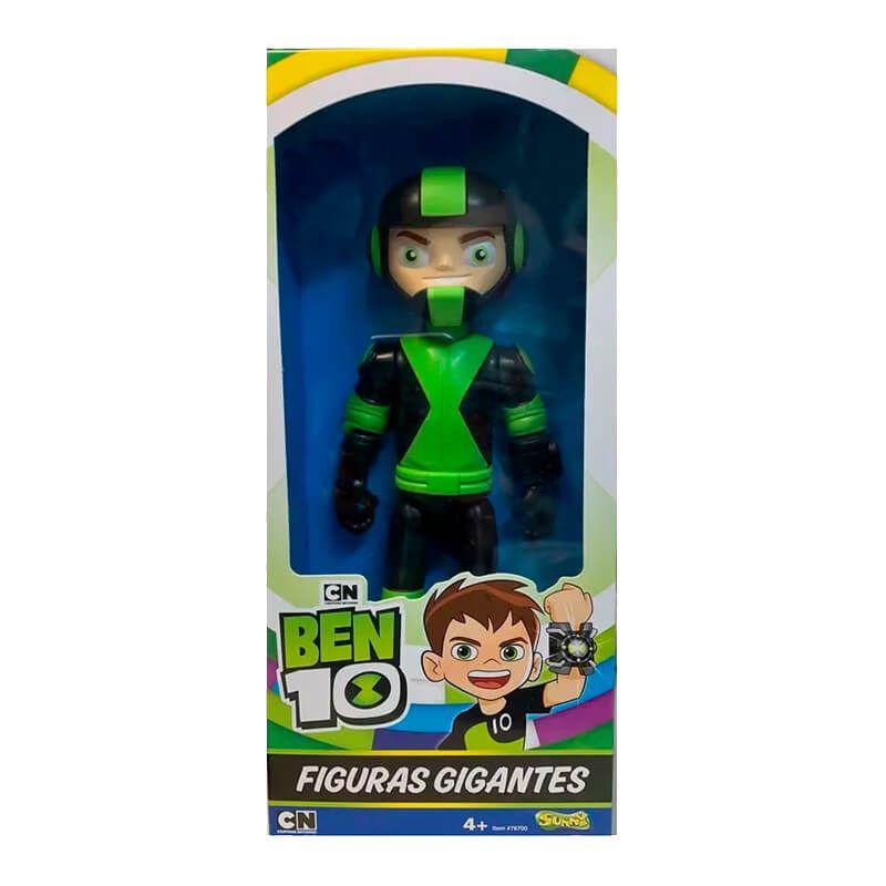 Boneco Ben 10 Figuras Gigantes - Rustbuggy Ben + Chama | Playmates/Sunny