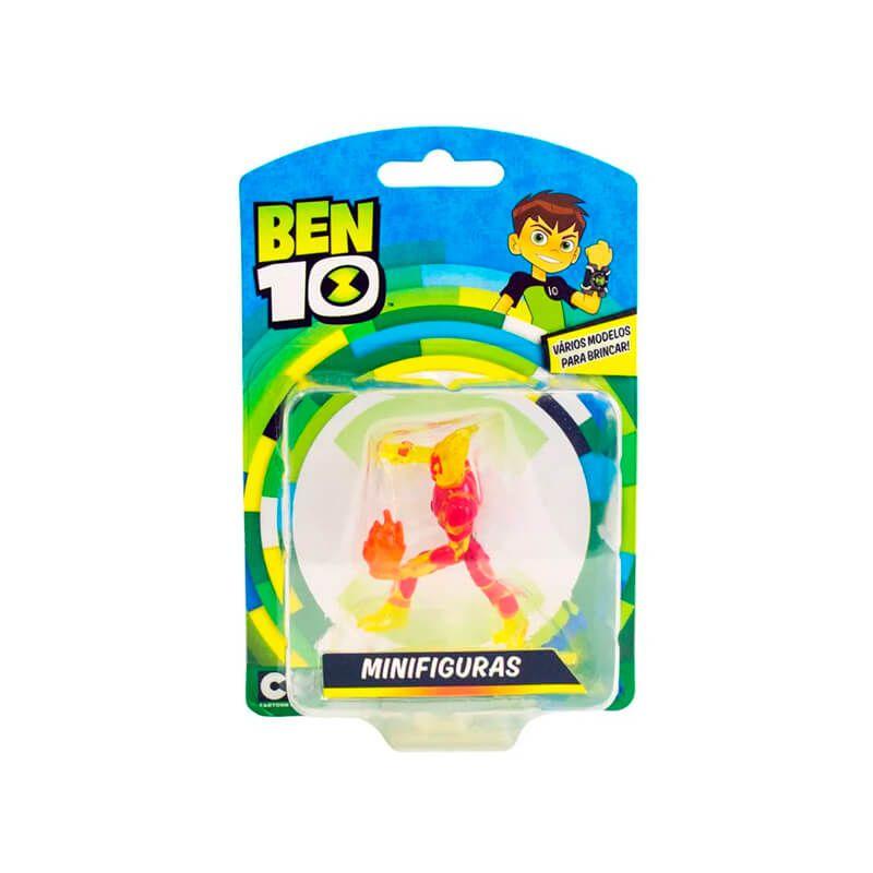 Boneco Ben 10 Mini Figuras - Chama | Playmates/Sunny