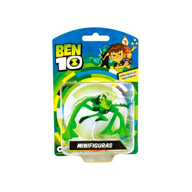 Boneco Ben 10 Mini Figuras - Cipó Selvagem | Playmates/Sunny