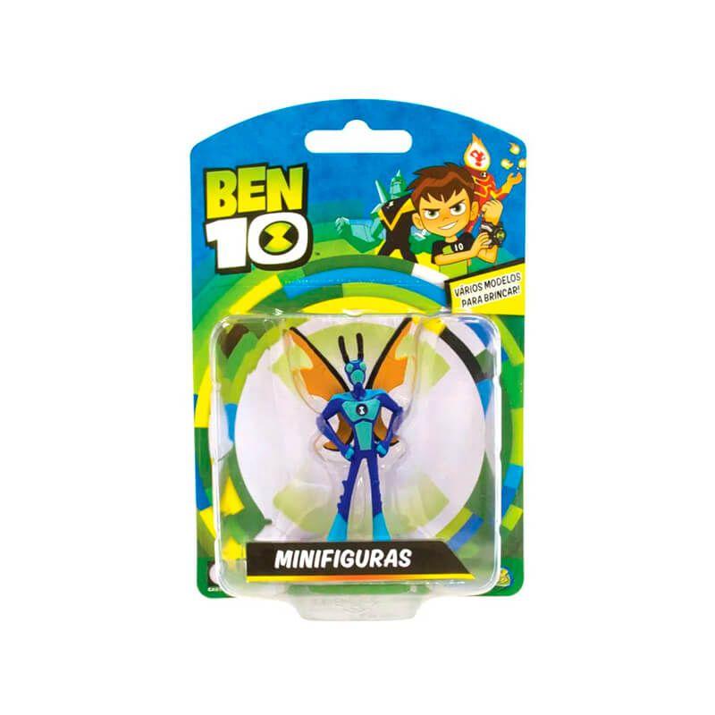 Boneco Ben 10 Mini Figuras - Insectóide   Playmates/Sunny