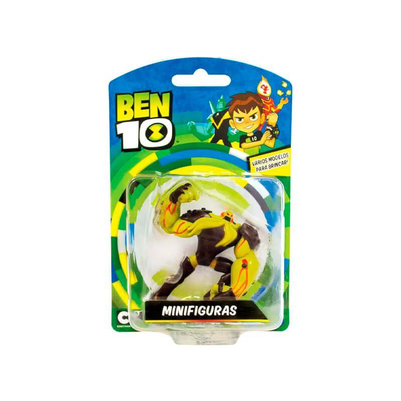 Boneco Ben 10 Mini Figuras - Vilgax | Playmates/Sunny