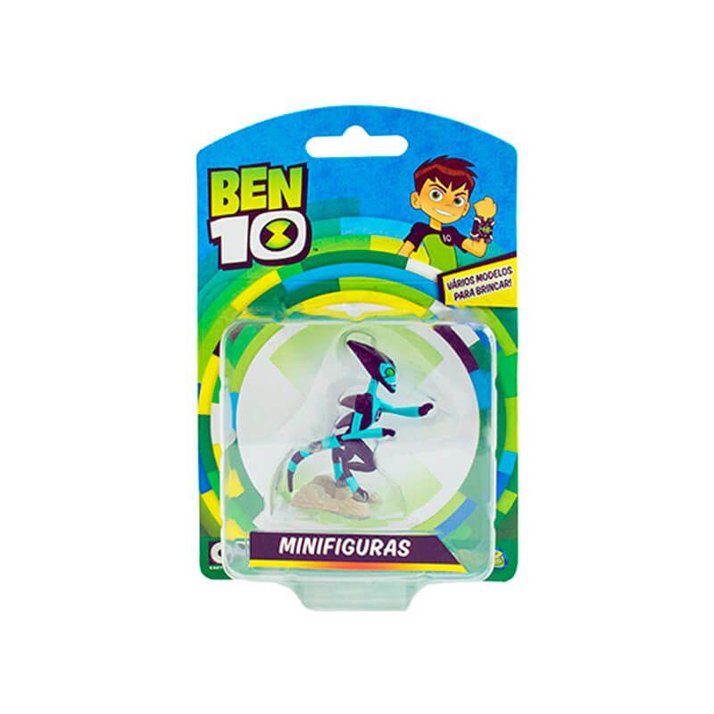 Boneco Ben 10 Mini Figuras - XLR8 | Playmates/Sunny