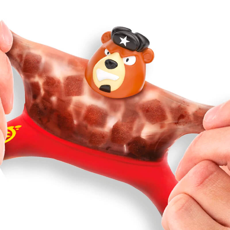 Boneco Heroes of Goo Jit Zu - Brawler, o Urso #S1 | Moose