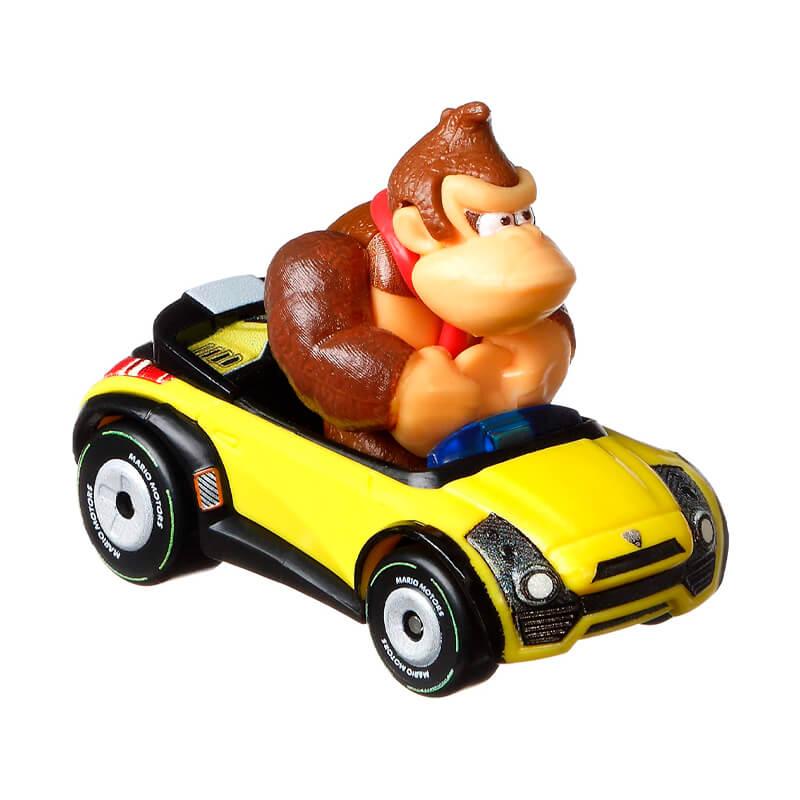 Boneco Hot Wheels Die-Cast Mario Kart: Donkey Kong - Sports Coupe | Mattel