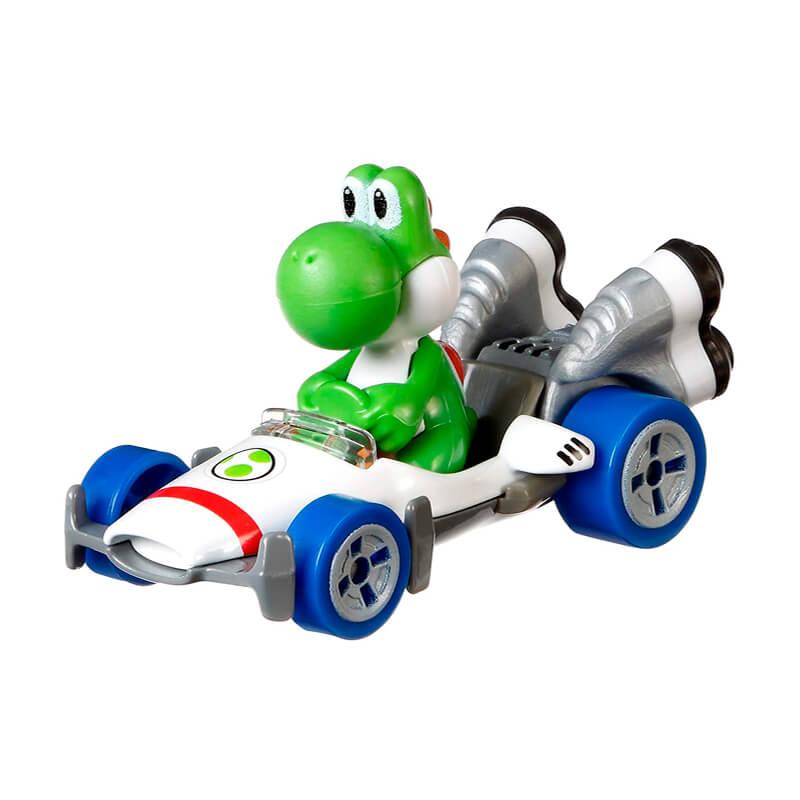 Boneco Hot Wheels Die-Cast Mario Kart: Yoshi - B Dasher | Mattel