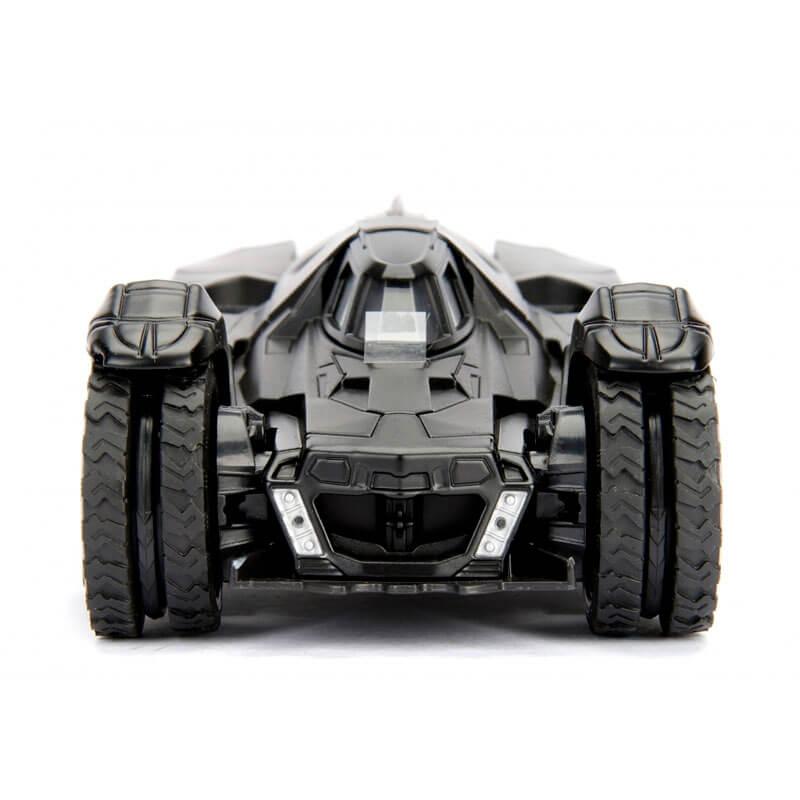 Boneco Metals Die Cast 1:24 - Batmobile (Arkham Knight) com Figura Batman | Jada/DC