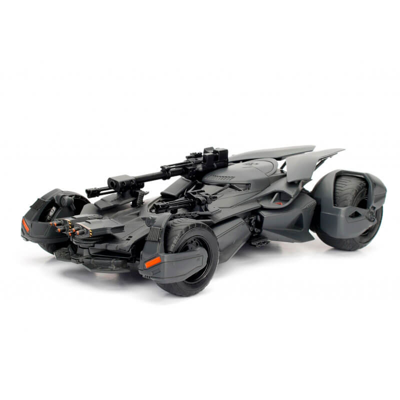 Boneco Metals Die Cast 1:24 - Batmobile (Justice League) com Figura Batman | Jada/DC