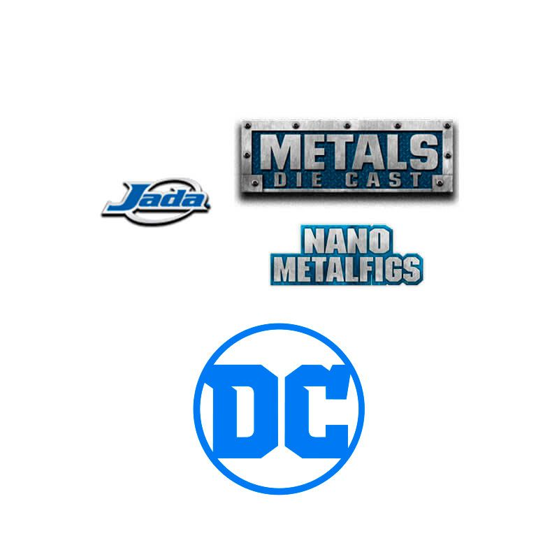"Boneco MetalFigs 2,5"" - Justice League Cyborg #M544 | Jada/DC"