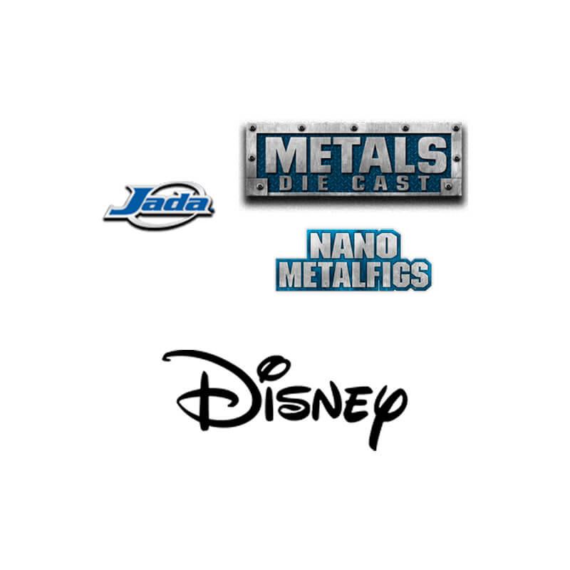 """Boneco MetalFigs 2,5"""" - Daisy Duck   Jada/Disney #D12"""