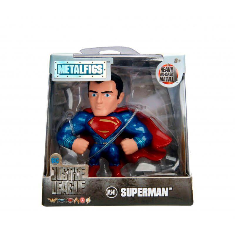 "Boneco MetalFigs 2,5"" - Justice League Superman #M541 | Jada/DC"