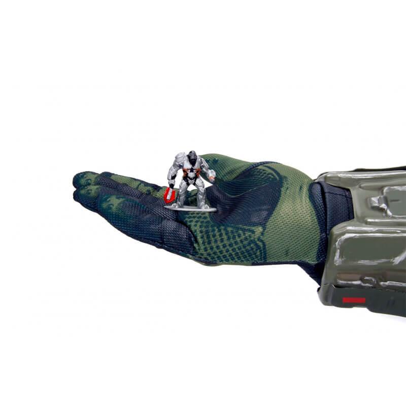 "Boneco Nano MetalFigs 1,65"" - Halo Atriox #MS10 | Jada/Microsoft"