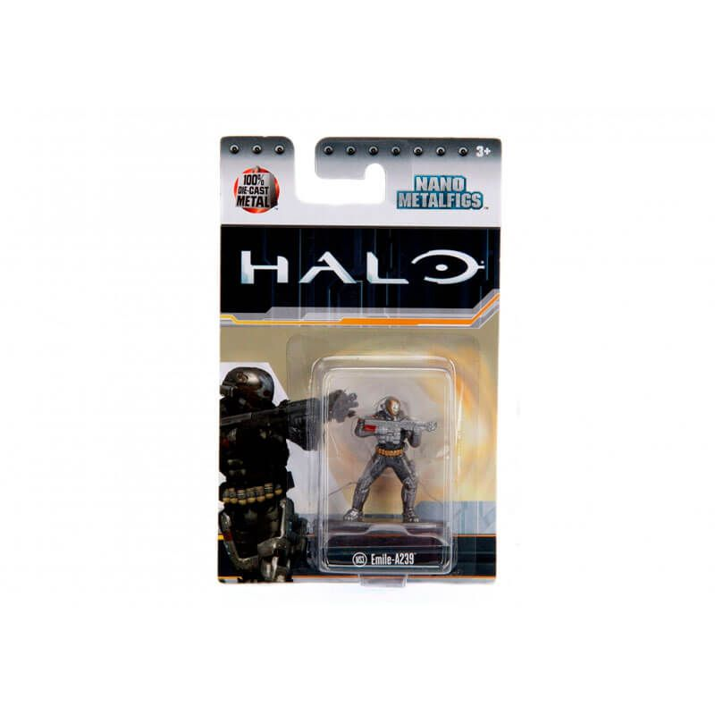 "Boneco Nano MetalFigs 1,65"" - Halo Emile-A239 #MS3 | Jada/Microsoft"