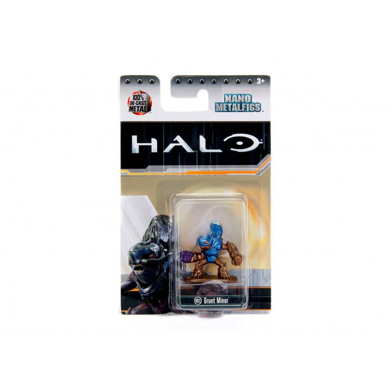 "Boneco Nano MetalFigs 1,65"" - Halo Grunt Minor #MS11 | Jada/Microsoft"