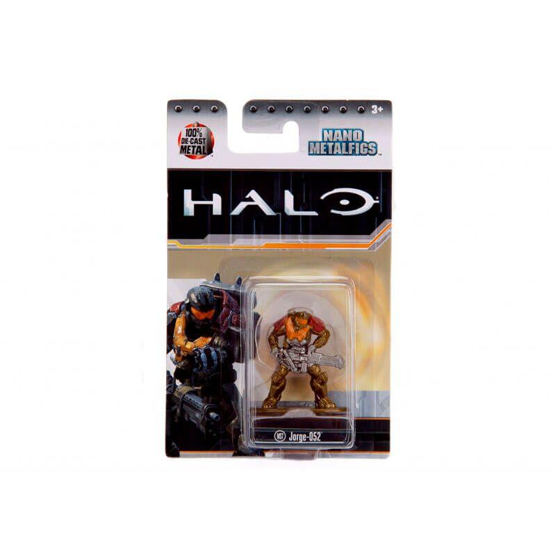 "Boneco Nano MetalFigs 1,65"" - Halo Jorge-052 #MS7 | Jada/Microsoft"