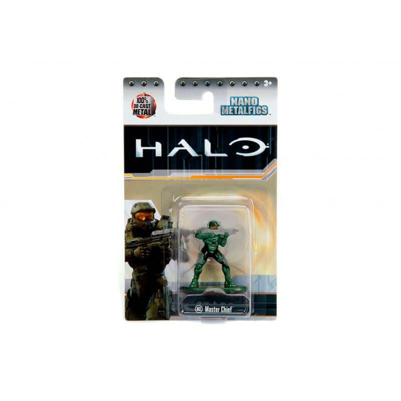 "Boneco Nano MetalFigs 1,65"" - Halo Master Chief #MS2 | Jada/Microsoft"