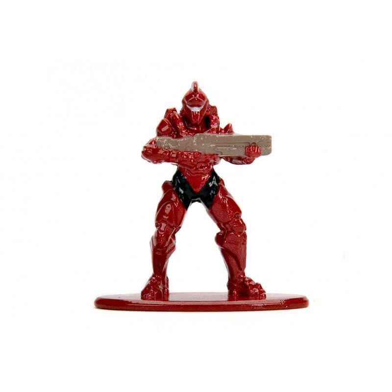 "Boneco Nano MetalFigs 1,65"" - Halo Spartan Achilles #MS8   Jada/Microsoft"
