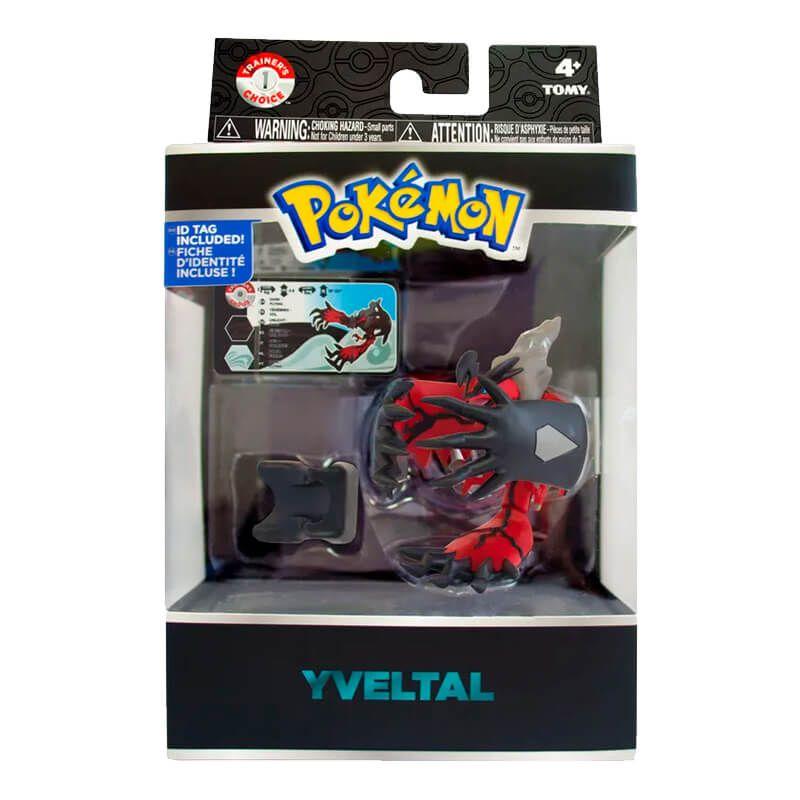 "Boneco Pokémon Action Figure 4"" - Yveltal | TOMY/Sunny"