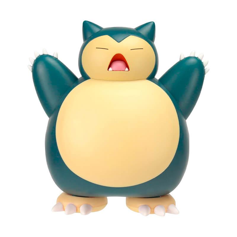 "Boneco Pokémon Battle Feature Figure - Snorlax 4,5"" | Jazwares"