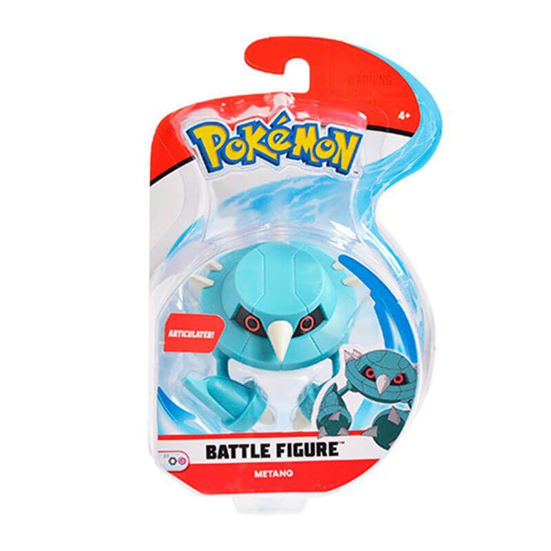 "Boneco Pokémon Battle Figure 3"" - Metang | WCT/DTC"