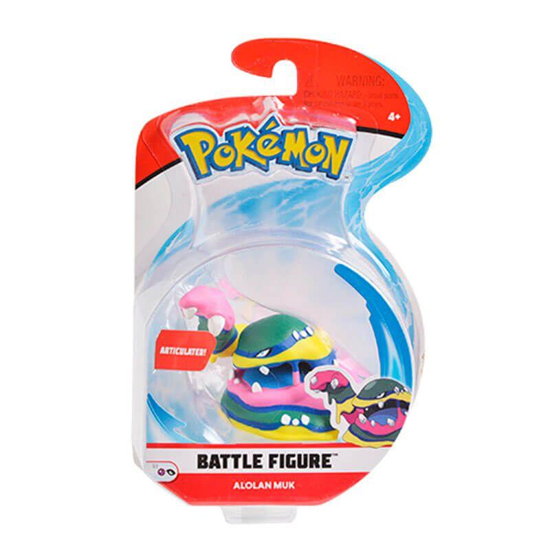 "Boneco Pokémon Battle Figure 3"" - Muk de Alola | WCT/DTC"