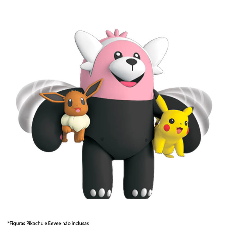 "Boneco Pokémon Battle Figure 4,5"" - Bewear| WCT/DTC"