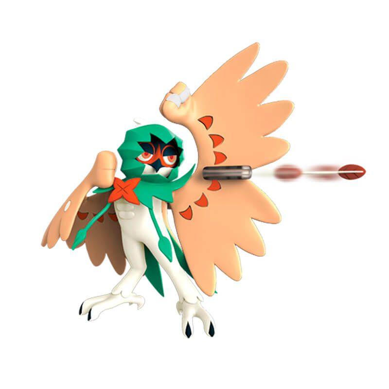 "Boneco Pokémon Battle Figure 4,5"" - Decidueye   WCT/DTC"