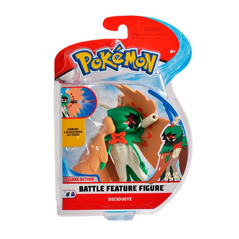 "Boneco Pokémon Battle Figure 4,5"" - Decidueye | WCT/DTC"