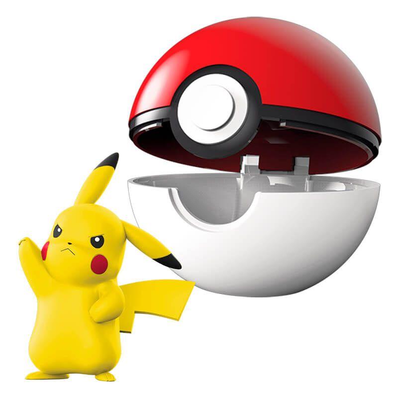 Boneco Pokémon Clip N Go - Poké Bola e Pikachu | WCT/DTC